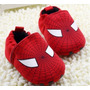 Sapatinho Tênis Bebe Homem Aranha Vermelho
