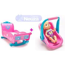 Baby Alive Berço E Bebê Conforto Nova Coleção Acessórios
