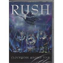 Rush - Clockwork Angels Tour - Dvd Lacrado - Importado -