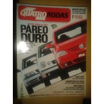 Revista Quatro Rodas N°520 Fox X Polo X Gol - Volvo S60r