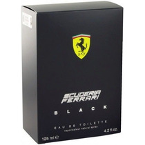 Perfume Ferrari Black 125ml - 100% Original - Frete Grátis