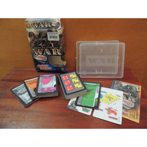 Jogo Estratégia Grow Cartas War Cards - Completo Na Caixa