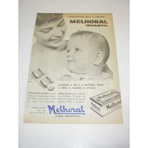 ( L - 290/ P ) Propaganda Antiga Melhoral Infantil