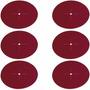 Kit Discos De Lixa N80 P/ Furadeira Ou Esmerilhadeira 6 Unds
