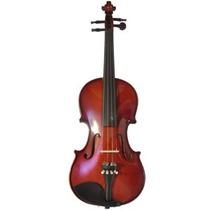 Violino Guarneri 3/4 Antique Luxo Com Case Dv12 Completo