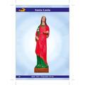 Imagens De Santos Católicos- Santa Luzia De Borracha