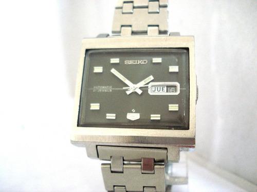 2870011b062 Relógio Seiko Quadrado Automático 6119-5000 Calendário Japan à venda ...