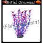 Enfeite Soma Planta Limnophila Roxa 30cm Fish Ornament