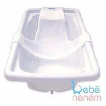 Rede Proteção Para Banho De Banheira - Branca. Bebê Neném
