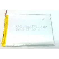 Bateria 3.7v 2800mah Tablet Qbex Zupin Tx120