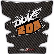 Adesivo Protetor De Tanque Tank Pad Moto Ktm Duke 200