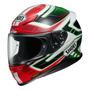 Capacete Shoei Nxr Valkyrie Tc4 Vermelho/verde 59/60 Rs1