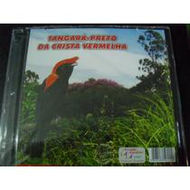 Cd-de Canto -de Pássaros - Tangara Preto Crista Vermelha