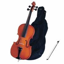 Violoncello Michael 4/4 Vom40 Na Loja Cheiro De Musica !!