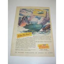 ( L 290/ P) Propaganda Antiga 2 Guerra Lanchas Higgins