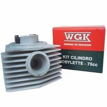 Kit 75cc Mobilette Wgk Competição Cromo