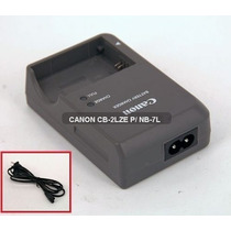 Carregador Canon Cb-2lze P/ Nb-7l G10 G11 G12 Sx30is Sx12