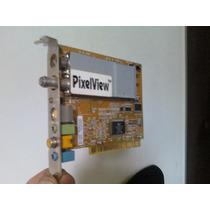 Placa Tv E Captura Pixeview - Com Rca Para Captura De Imagem