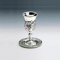 Cálice Taça Ou Copo Prata Para Altar Igrejas Ou Judaico 7587