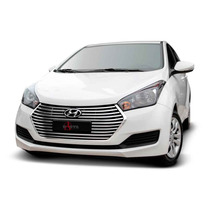 Sobre Grade Darta Hyundai Novo Hb20 2016 Flat Inox Garantia