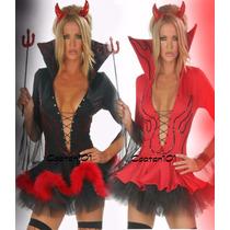 Fantasia Diabinha Halloween Dia Das Bruxas