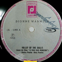 Dionne Warwick 1968 Valley Of Dolls / Go With Love Compacto