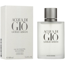 Perfume Acqua Di Gio 100ml Giorgio Armani Original / Lacrado