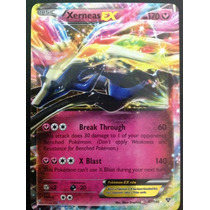 Carta Pokemon Xerneas Ex X Y Inglês