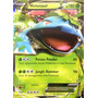 Carta Pokemon Venosaur Ex X Y Inglês