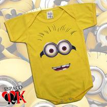 Body Bebê Minion