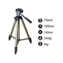 Tripe Para Camera Digital Filmadora Dslr Fancier 3150 1.35mt