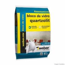 Argamassa 5kg Bloco De Vidro Quartzolit