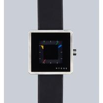 Relógio Hygge 2089 Series Pulseira De Couro - Preto