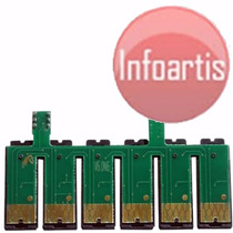 Kit C/ 5 Chip Full T60 1390 Com Reset Bulk Botão Ilimitado