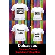 Kit Camisetas Blusas Pai E Filho Ou Filha Dalsassu´s