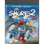 Blu - Ray 3d Os Smurfs 2 - Novo***