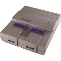 Super Nintendo Testado Ok C/ Fonte E Cabo Av Controle