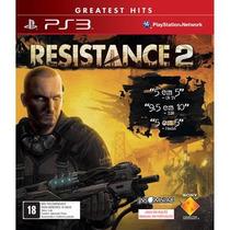 Resistance 2 Ps3 Jogo Nacional Sony Novo Lacrado Com Nota