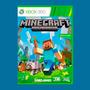 produto Minecraft Totalmente Em Pt Br Xbox 360 + Brinde