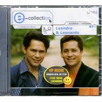 Cd Leandro E Leonardo E-collection Sucessos + Raridades Raro
