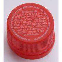 Tampinha Antiga Do Refri Coca-cola Rosquiável (plástica)
