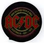 Patch Tecido - Ac/dc - Australia Est 1973 - Importado