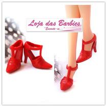 Sapatinho Para Boneca Barbie * Sapato Fashion * Luxo