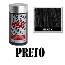 Hair So Real Black 28g Esconde Calvice Maquiagem Capilar