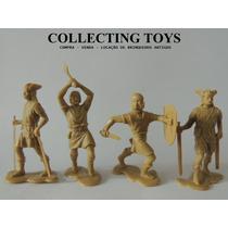 Soldadinhos - Guerras Medievais - 4 Bonecos (re 83)