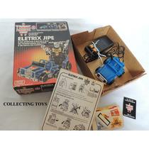 Transformers - Eletrix Jipe - Anos 80 - Novo - Sem Uso!