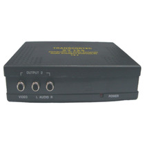 Splitter Distribuidor Video Composto+audio(l/r) 1x2 - Dv120