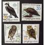 7234 Alemanha Ddr Aves De Rapina Série Completa Yvert 2352/5