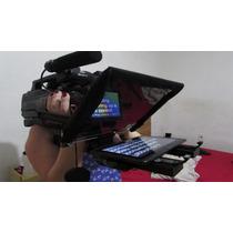 Teleprompter Para Ipad E Tablet, Para Câmera No Ombro