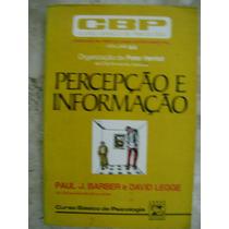 Percepção E Informação Paul J Barber